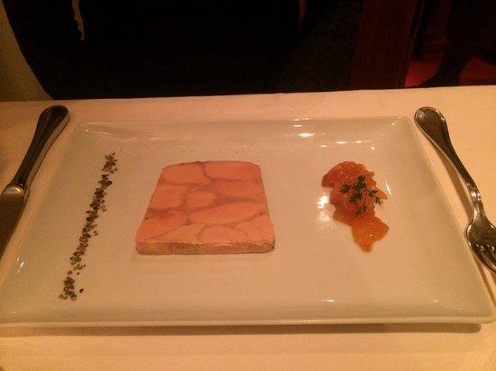 La Saulire : Marbré de foie gras