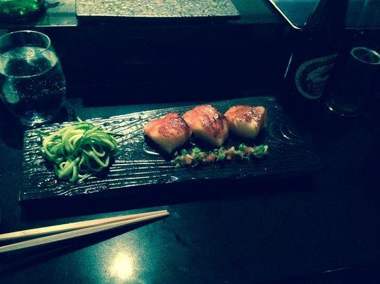 Sokyo: Black Cod - delicious