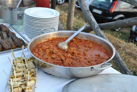 Castello Di Pupaggi: piatto tipico