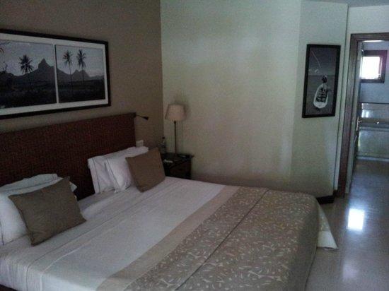 LUX* Le Morne : lit king size chambre double supérieure