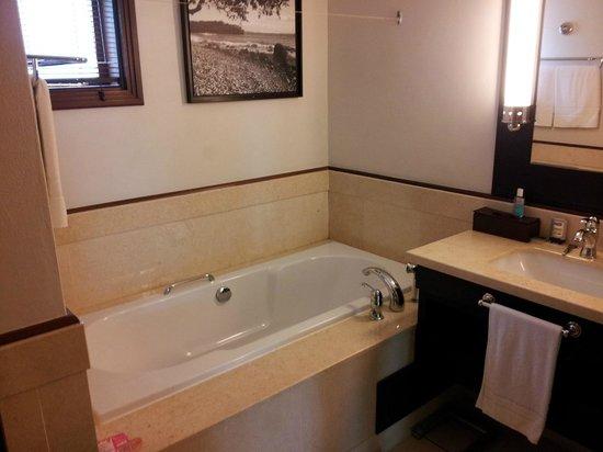 LUX Le Morne : baignoire chambre double supérieure