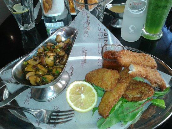 Cafe Rimon : Peixe empanado