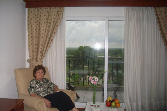 Sol Victoria Hotel Spa & Casino: Desde las ventanas de las habitaciones se domina un paisaje exquisito