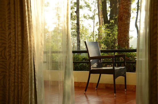 The Windflower Resort and Spa, Coorg: Balcony