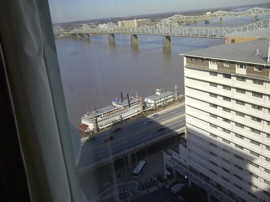 Galt House Hotel: River view