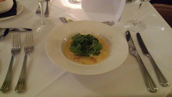 The Grand Hotel : Wedding Menu Tasting - Butternut Squash Risotto