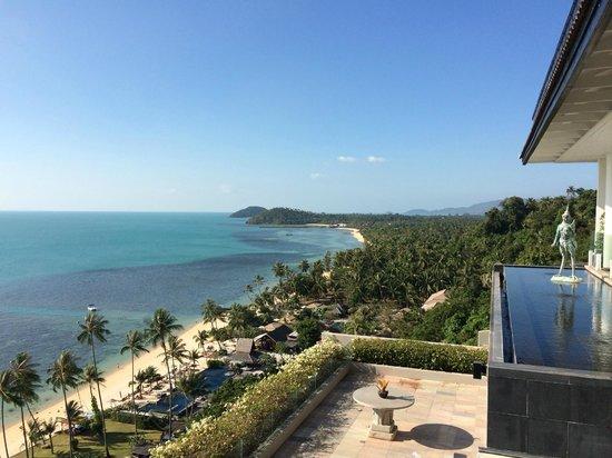 InterContinental Samui Baan Taling Ngam Resort: Great view