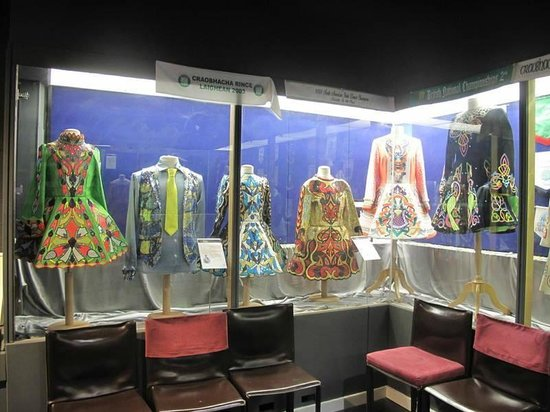 Jig, the Story of Irish Dance: Lovely Dance Costumes on Display at Jig