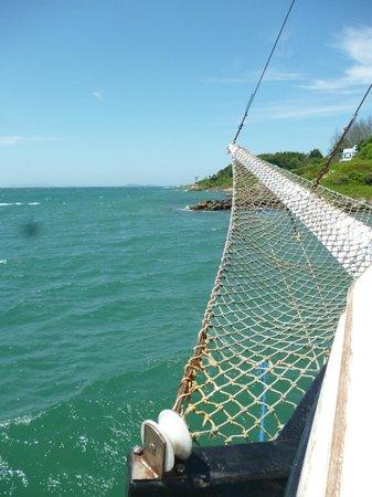 Garopaba Beach: barco