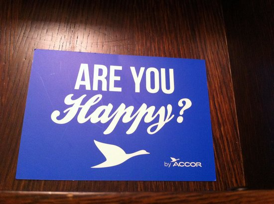 Hotel Lindrum Melbourne - MGallery Collection: Are You Happy card