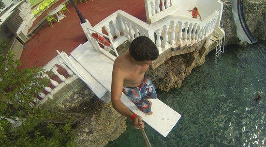 Hotel Blue Cove : trampolim 2