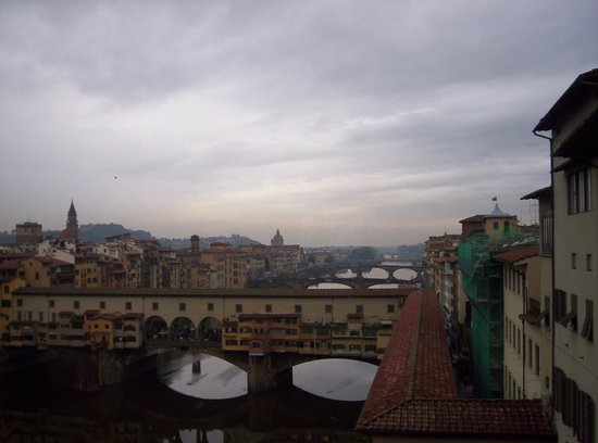 Hotel San Gallo Palace: The famous bridge