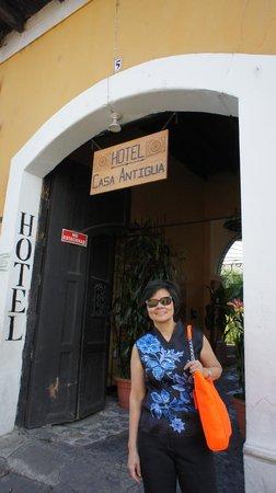 Hotel Casa Antigua: Hotel entrance