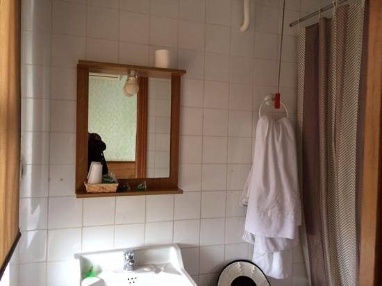 Hostal Anas: Baño de la habitación.