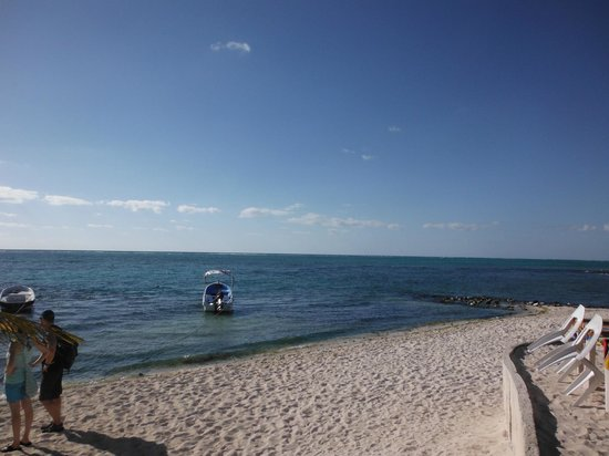 Mexican Caribbean Kitesurf & Paddlesurf: view from bar across from cenote