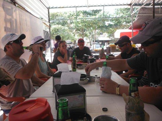 Mexican Caribbean Kitesurf & Paddlesurf: ready to eat tacos