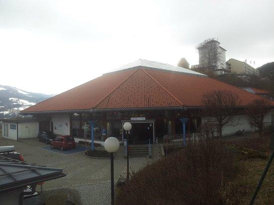 Aquaria Oberstaufen: Der Eingangsbereich.