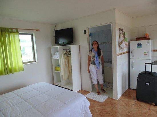 Cabanas Te Pito Kura: cabaña p/2 personas