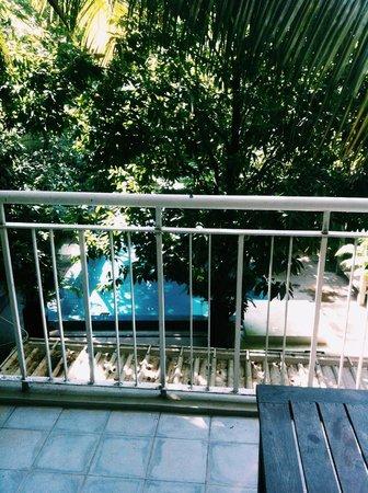 Blue Lime : balcony