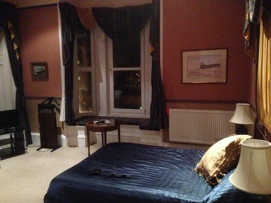 Fairfield House Hotel: Lovely room (Greenan room)