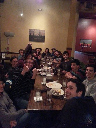Phantom Canyon Brewing Co: Celebration meal after USA National Championship