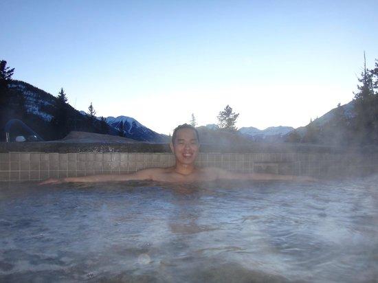 Hidden Ridge Resort: hot tub