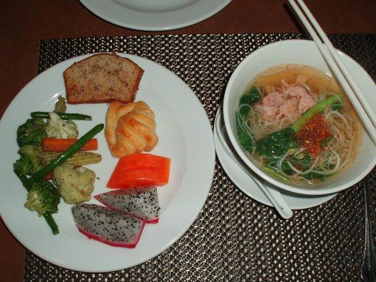 Tara Angkor Hotel: 朝食