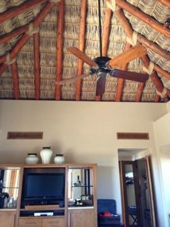 Esperanza - An Auberge Resort: awesome thatched roof