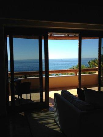 Esperanza - An Auberge Resort: view from living room/bedroom