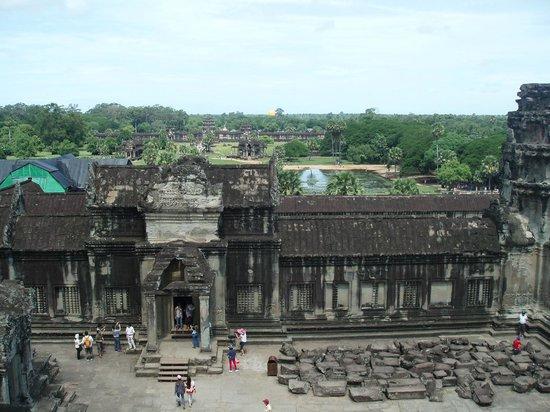 Angkor Wat: 上から