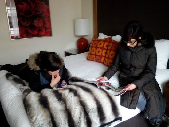 Hotel Modera: Comfortable bed