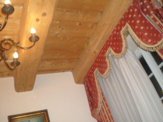 Hotel U Zlateho Stromu: οροφή δωματίου