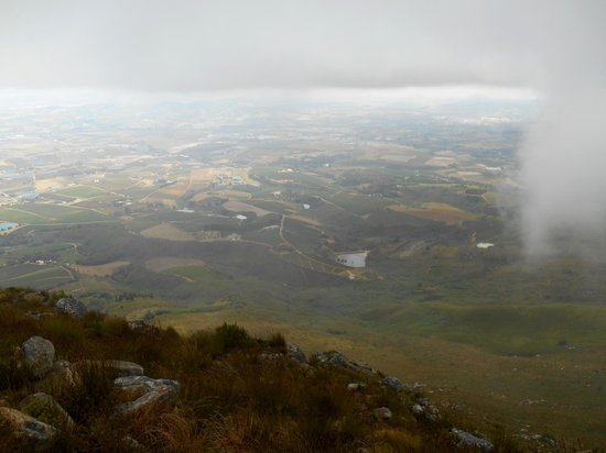 Helderberg Nature Reserve : Panorama view from West Peak