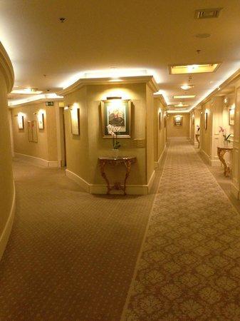 Grand Hotel Wien: Corridor