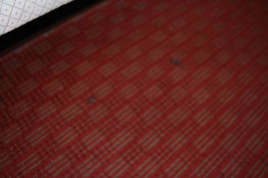 Days Inn Portage: non smoking room has burn holes all over the carpet, old carpet