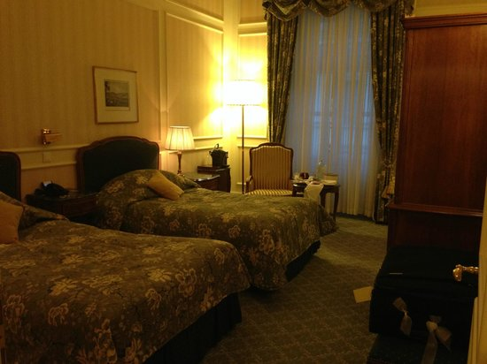 Grand Hotel Wien: Deluxe Twin - city view