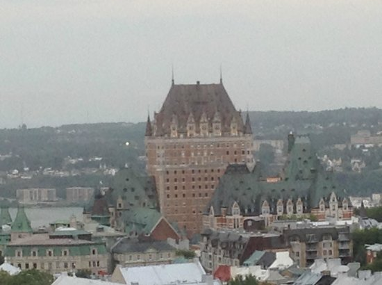 Hilton Québec : view from room