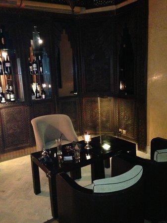 Restaurant of La Maison Arabe: petit bar
