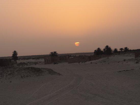 Club Marmara Hammamet Beach : Sahara couché du soleil