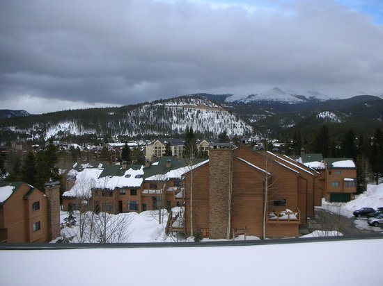 DoubleTree by Hilton Breckenridge: View from 5th floor room