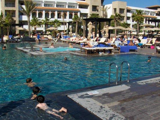 Hotel Riu Palace Tikida Agadir: Les chambres ensoleillées toutes la journée avec vue sur piscine