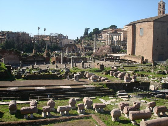 Ancient Rome: Upper view