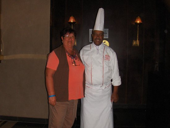 Hotel Riu Palace Tikida Agadir: Le Chef Cuisine très sympa