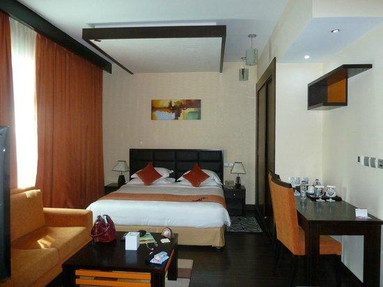 Marina View Hotel Apartments: номер (спальня)