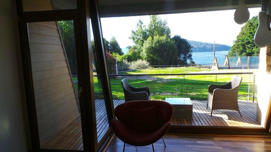 Rochester Hotel Bariloche: Vista al Lago desde la Habitación