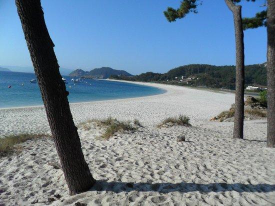 La preciosa playa de Rodas.