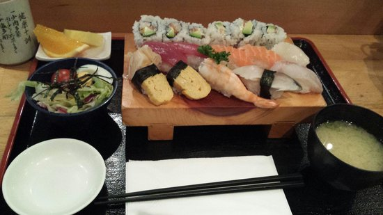 Iwase: Mittagsmenu Nr. 3 mit Maki