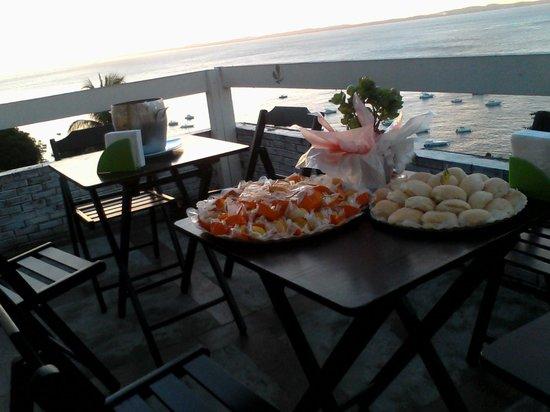 Santeria Hostel Bar: final de tarde para se aprecair um belo por do sol