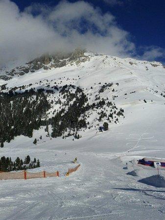 Obereggen - Ski Center Latemar: Near Obereggen snow park