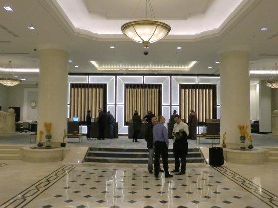 JW Marriott Bucharest Grand Hotel: Lobby